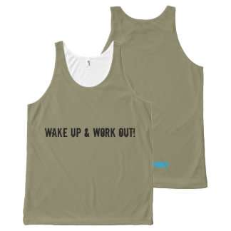 Unisex Workout Vest All-Over Print Tank Top