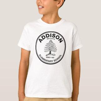 Unisex Youth Tee, Black Logo T-Shirt