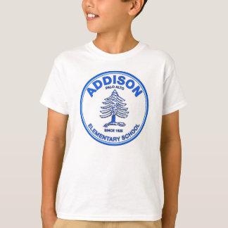 Unisex Youth Tee, Blue Logo T-Shirt