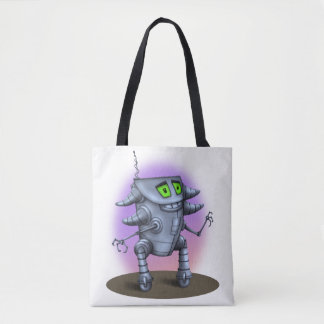 UNIT ROBOT ALIEN All-Over-Print Tote Bag MEDIUM