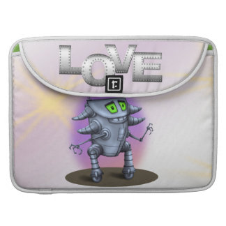 "UNIT ROBOT CARTOON  CUTE Macbook Pro 15"" Sleeve For MacBooks"