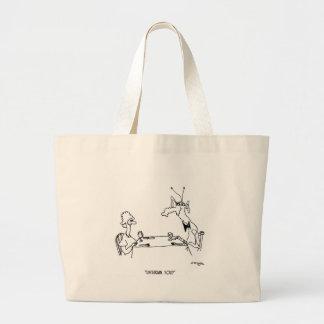 Unitarian Cartoon 5719 Large Tote Bag