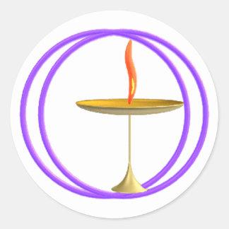 Unitarian Universalist Round Sticker
