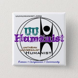 Unitarian Universalist (UU) Humanist 15 Cm Square Badge