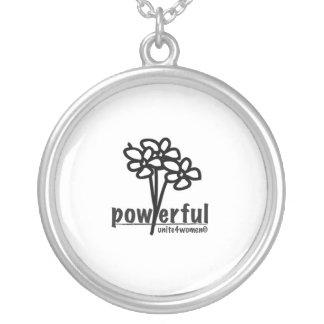 unite4women necklace, words of wisdom