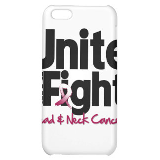 Unite and Fight Head and Neck Cancer Case For iPhone 5C