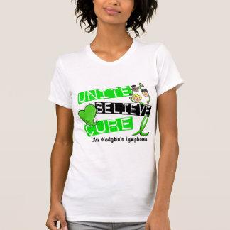 UNITE BELIEVE CURE Non-Hodgkin's Lymphoma Tee Shirt