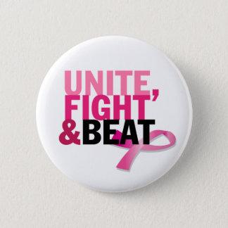 Unite, Fight & Beat 6 Cm Round Badge