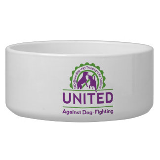 UNITED Against Dog-Fighting Large Pet Bowl