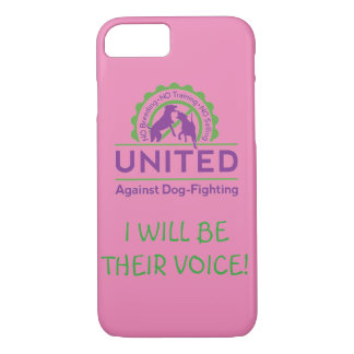 UNITED Against Dog-Fighting Phone Case