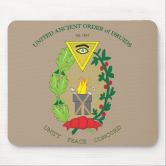 UNITED ANCIENT ORDER OF DRUIDS MOUSE PAD