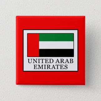 United Arab Emirates 15 Cm Square Badge