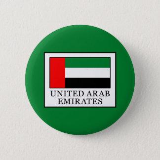 United Arab Emirates 6 Cm Round Badge
