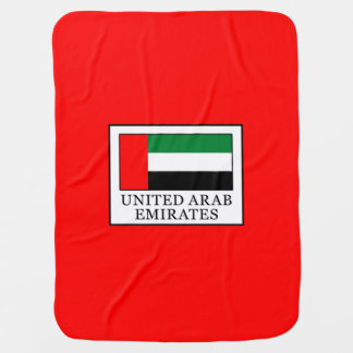 United Arab Emirates Baby Blanket