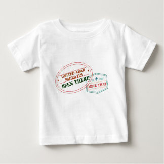 United Arab Emirates Been There Done That Baby T-Shirt
