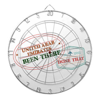 United Arab Emirates Been There Done That Dartboard