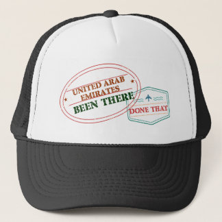 United Arab Emirates Been There Done That Trucker Hat