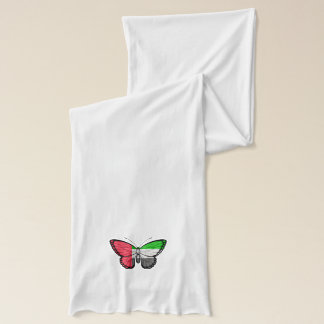United Arab Emirates Butterfly Flag Scarf