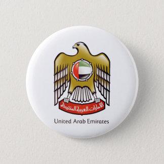 United Arab Emirates coat of arms 6 Cm Round Badge