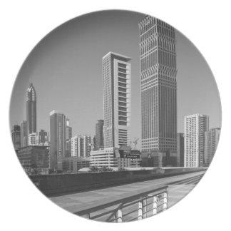 United Arab Emirates, Dubai, Dubai City. Plates