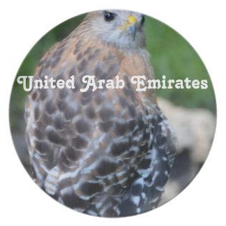 United Arab Emirates Falcon Plates