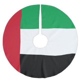 United Arab Emirates Flag Brushed Polyester Tree Skirt