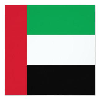 United Arab Emirates Flag Card