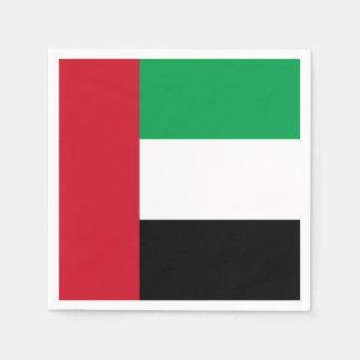 United Arab Emirates Flag Disposable Serviette