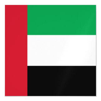 United Arab Emirates Flag Magnetic Invitations