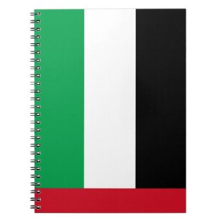 United Arab Emirates Flag Notebook