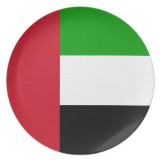 United Arab Emirates Flag Plates