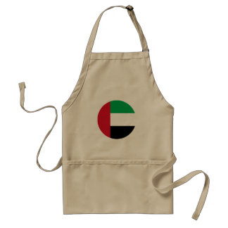 United Arab Emirates Flag Standard Apron