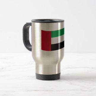 United Arab Emirates Flag Travel Mug