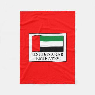 United Arab Emirates Fleece Blanket