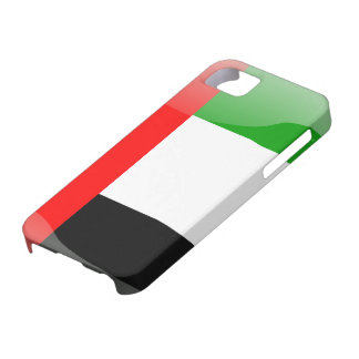 United Arab Emirates glossy flag Barely There iPhone 5 Case