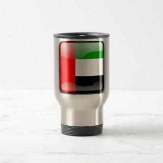United Arab Emirates glossy flag Travel Mug