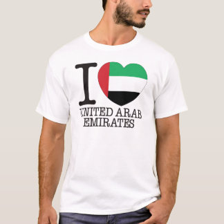 United Arab Emirates Love v2 T-Shirt
