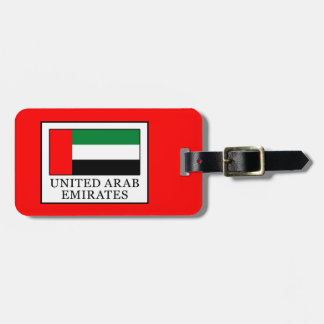 United Arab Emirates Luggage Tag