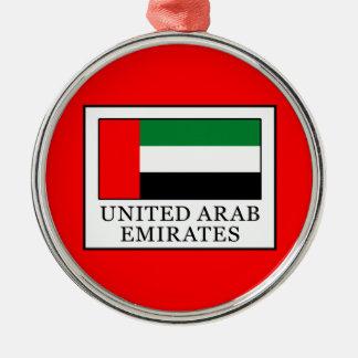 United Arab Emirates Metal Ornament