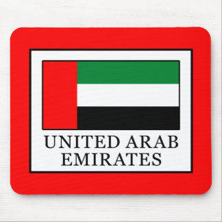 United Arab Emirates Mouse Pad