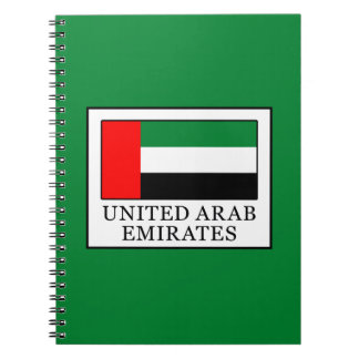 United Arab Emirates Notebooks
