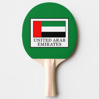 United Arab Emirates Ping Pong Paddle