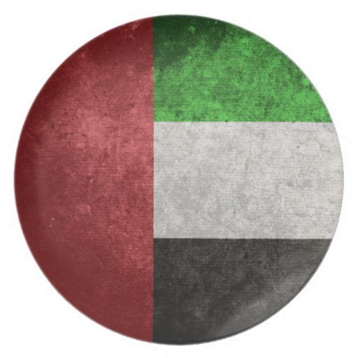 United Arab Emirates Plates