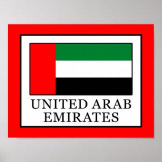 United Arab Emirates Poster