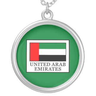 United Arab Emirates Silver Plated Necklace