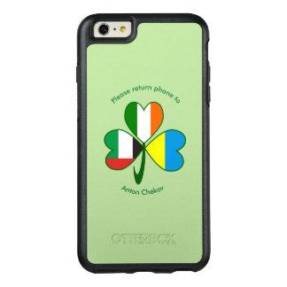 United Arab Emirates, Ukraine, Ireland Shamrock OtterBox iPhone 6/6s Plus Case