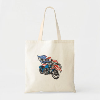 United Biker Budget Tote Bag