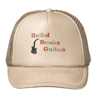 United Breaks Guitars Cap