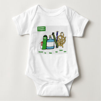 United Children of Brangelina Baby Gear Baby Bodysuit