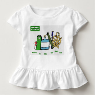 United Children of Brangelina Toddler Ruffle Tee